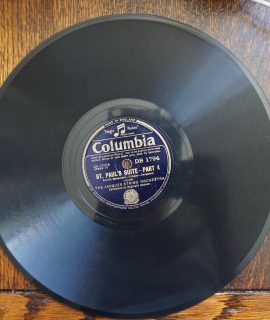 St. Paul's Suite, part 3/part 4, The Jacques String Orchestra, Columbia, 1932