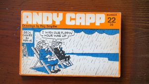 Andy Capp, drawings by Reg Smythe, number 22, 1969