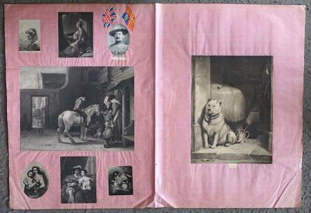 3 Antique Engravings Prints (1840 ca.); 5 Antique Prints (1880 ca.)