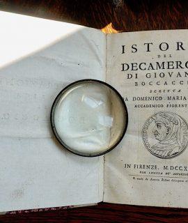 Domenico Maria Manni, Istoria del Decamerone di Giovanni Boccaccio, Firenze, 1742