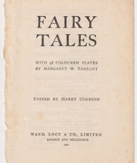 Fairy tales edited by Harry Golding, frontispiece, 1922