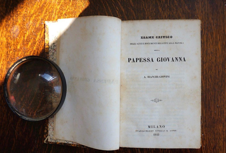 Bianchi-Giovini, La Papessa Giovanna