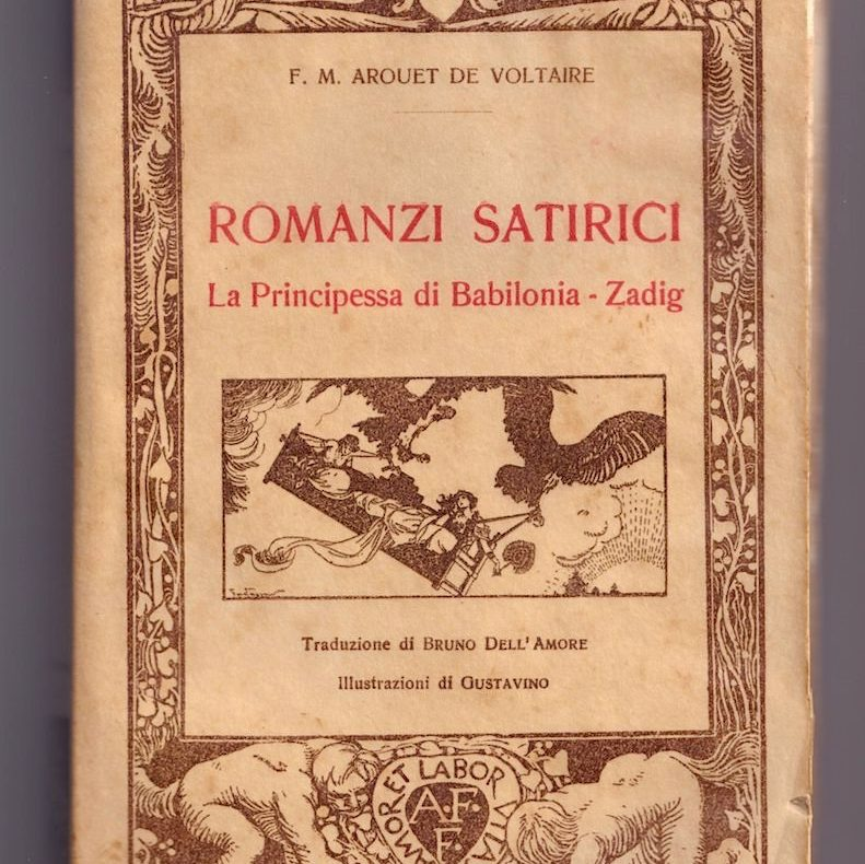 Voltaire, romanzi satirici, antireligiosi