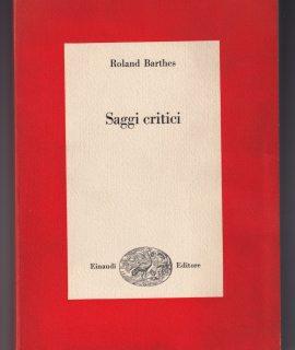 Roland Barthes, Saggi critici, Einaudi 1966