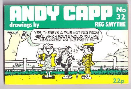 Andy Capp n. 32, 1974