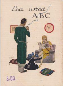Rare Vintage Print, Lea Usted ABC, 1931