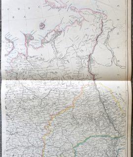 Antique Map, 1860 ca.