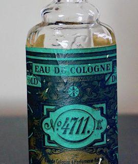 Original Vintage Eau de Cologne Blu & Cold, 4711, 53 cc.