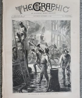 The Graphic, vol. VI, n. 99, October 21, 1871