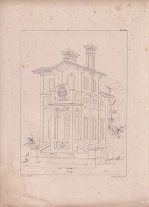 Antique Print, printed by C. Hullmandel, 1870 ca.