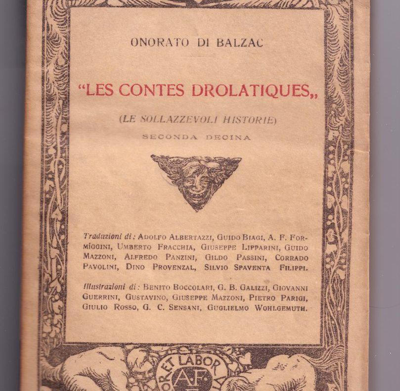 Balzac, Contes Drolatiques, angeli