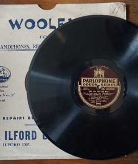 Love Lost For Ever More; Once There Lived a Lady Fair, Richard Tauber, 78 Rpm, 1934