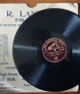 Hungarian Rhapsody n. 2;, Gipsy Boys Band from Budapest, 78 Rpm, His Master's Voice, 1939