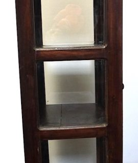 Antique Deco Unusual Handmade Display Cabinet