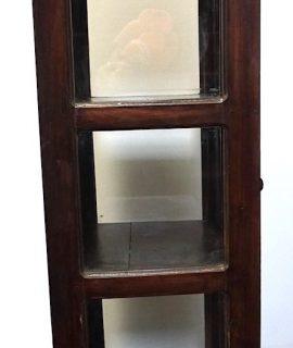 Antique Deco Unusual Handmade Display Cabinet