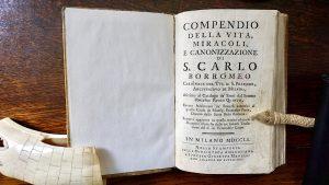 Compendio della vita, miracoli, e canonizzazione di S. Carlo Borromeo, Giuseppe Marelli, Milano, 1760