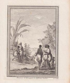 Antique Engraving Print, Femmes de Kazegut en differens habits, 1746