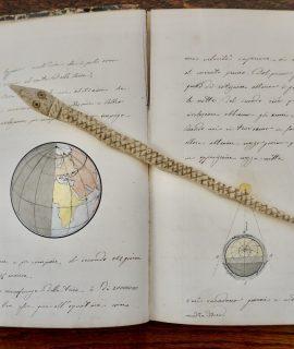 Antique Manuscript, Geografia celeste e politica, 1850 ca.