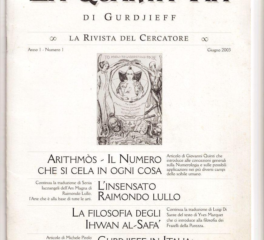 Lustrascarpe, damerini, grammofono, Gurdjieff