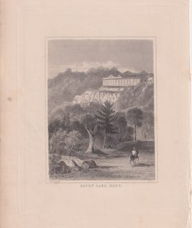 Antique Engraving Print, Seven Oaks, Kent, 1845