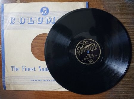 Mama; Just one more time, song by Danny Purches, 78 RPM, 1955