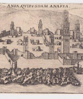 Rare Antique Engraving Print, Anea Quibusdam Anaffa, 1575