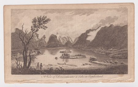 A view of Derwentwater a Lake in Cumberland, 1776