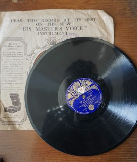 Carry me back to the lone prairie; The toy trumpet, The George Evans Orchestra, 78 RPM.