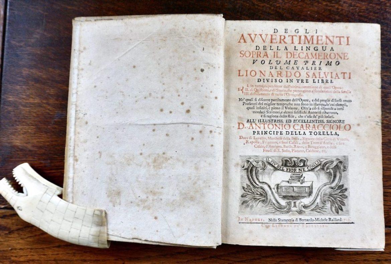 "Leonardo Salviati ""assassina"" Boccaccio"