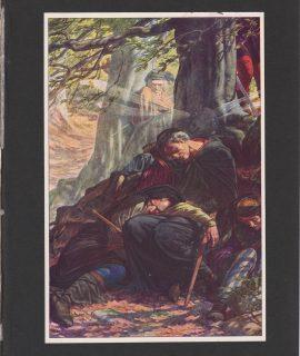 Vintage print, 1909 ca.