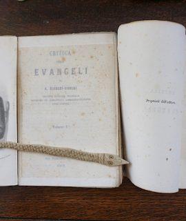Critica degli Evangeli di A. Bianchi Giovini, Milano, per Francesco Sanvito, 1862