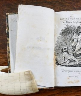 La Divina Commedia di Dante Alighieri con argomenti e note di Giuseppe Borghi, Roma, con Facoltà, 1839
