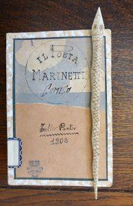 Rare Book, Il poeta Marinetti Comico, Tullio Panteo, Società Editoriale Milanese, 1908