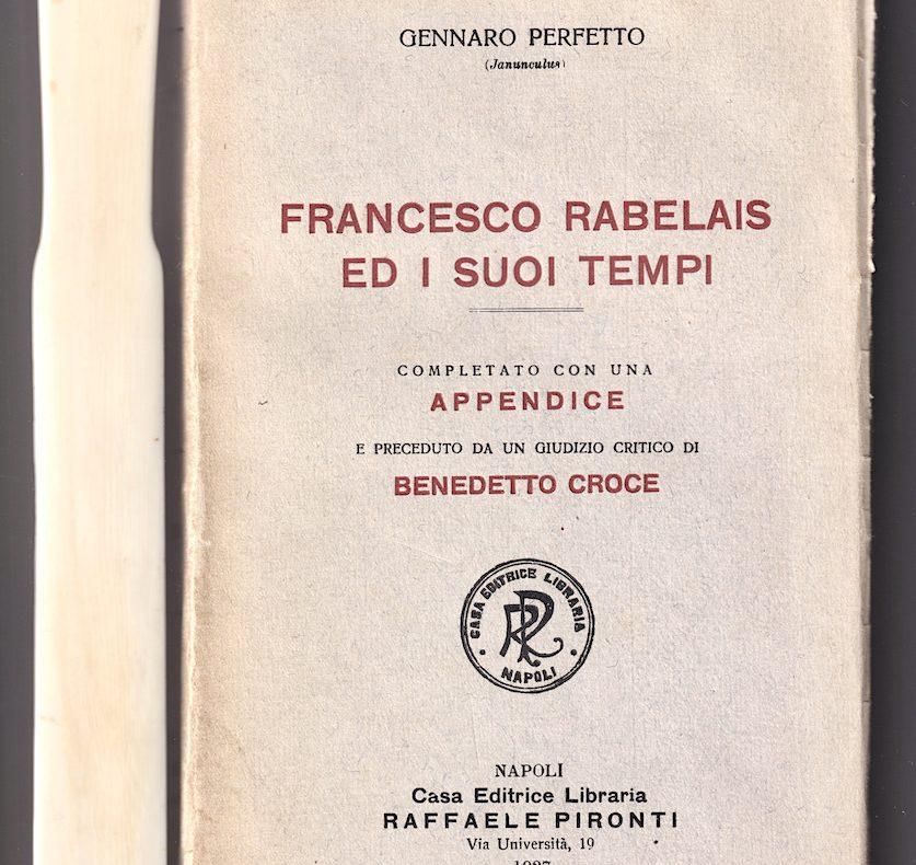 Perfetto, Rabelais, Tiraqueau, misoginia