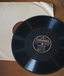 All my Love; Buttons and Bows, by Dinah Shore, 78 RPM, 1948