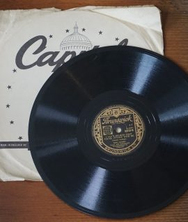 September Song; I can't believe that You're in love with me, 78 RPM Bing Crosby, 1947