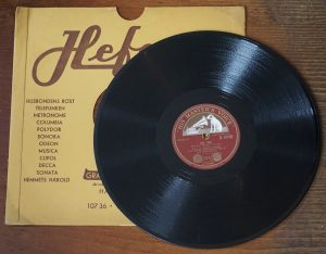 Turn Back the Hands of Time; Any Time, 78 RPM, Eddie Fisher, 1950
