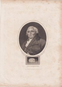 Antique Engraving Print, Loutherbourg, 1814