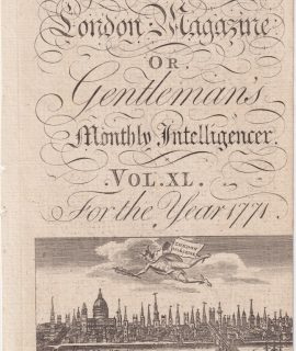 Part of Frontispiece from The London Magazine... 1771