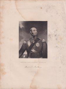 Antique Engraving Print, Edward Duke of Kent..., 1845