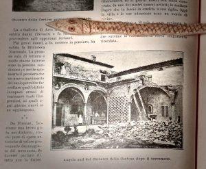 Firenze, terremoto maggio 1895