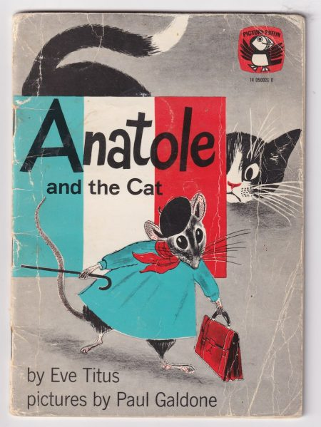 Anatole and the cat, by Eve Titus, Pictures Puffins 1970