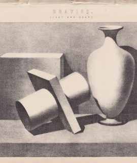 Antique print, Drawing, Light and Shade, 1870