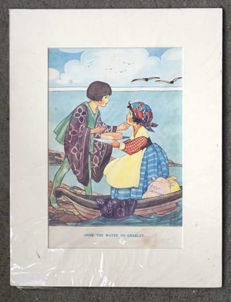 Vintage print, Over the water to Charley, 1950