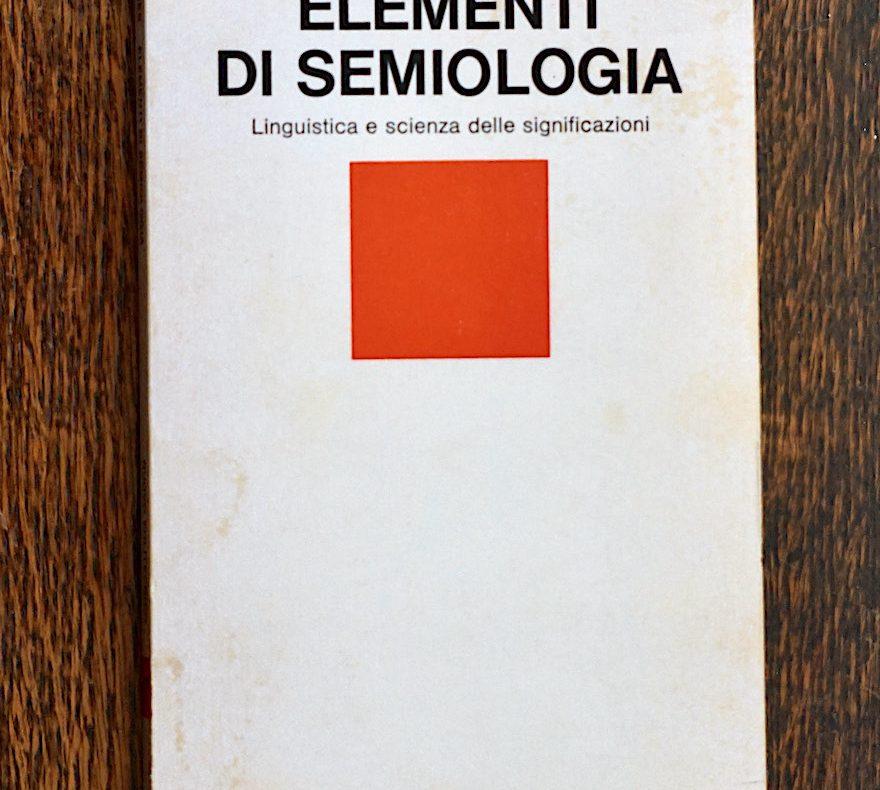Barthes, Semiologia, parole vuote