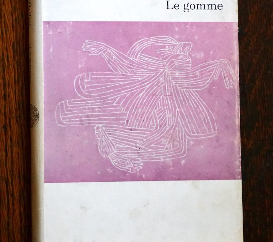 Le gomme, Alain Robbe-Grillet
