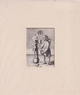 Rare Antique Engraving Print, 1790