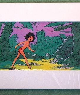 Vintage Print, Mowgli, 1967