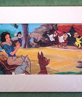 Rare Vintage Print, Snow White, 1947