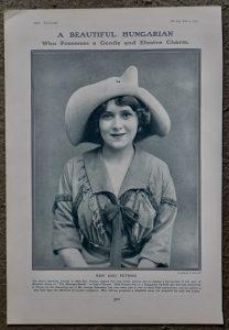 Vintage Print, The Duke of Westiminster; Miss Sari Petrass, 1913